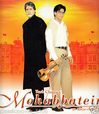 MOHABBATEIN (2000) SHAHRUKH KHAN, AMITABH BACHCHJAN PRESS BOOK BOLLYWOOD