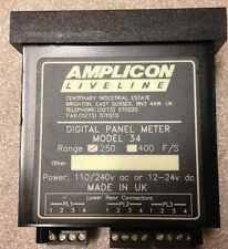 Amplicon LiveLine Model 34 Digital Panel Meter, SHIPSAMEDAY #1554A7