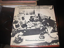 Steve Winwood, Jim Capaldi, Dave Mason, Chris Wood Welcome To The Canteen on LP