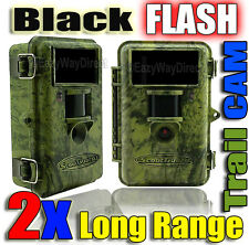 Bulk Buy 2 x BLACK FLASH ScoutGuard SG560K-14mHD Long Range Hunting Trail Cam