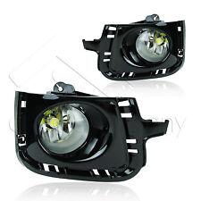 12-14 Prius-C Gloss Bezel Fog Lights w/Wiring Kit & High Power COB Bulbs - Clear