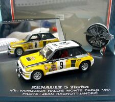 UNIVERSAL HOBBIES 1:43 EAGLE'S RACE RENAULT 5 TURBO #9 RALLY MONTE CARLO 81 1703