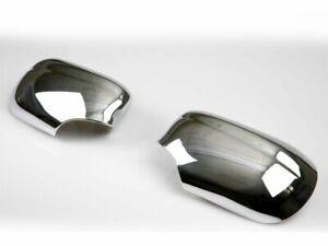 Für Jaguar S-type Spiegelkappen Außenspiegel Gehäuse Abdeckungen Set Chrom 98-02