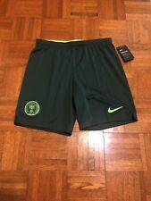 NEW W/ Tags Nigeria National Football Soccer Team Adult M Slim Fit Nike Shorts