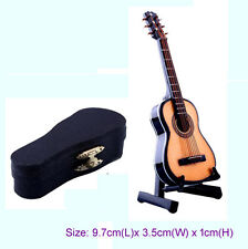 1/12 Musical Instrument Dollhouse Miniature Mini Guitar Music Figure Boxed Gift
