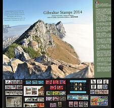 Gibraltar - 2014 Year Pack