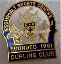 ESQUIMALT SPORTS CENTER CURLING CLUB VANCOUVER ISLAND B.C. CANADA Pin