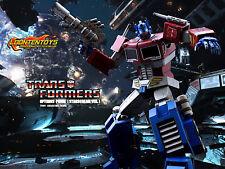 Hot Toys 1/6 TF001 - THE TRANSFORMERS GENERATION 1: Optimus Prime Starscream