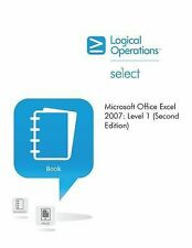 Microsoft Office Excel 2007 Level 1 Student Manual