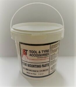 Tyre/Tire Mounting Paste Bead Wax/Lube 1kg Tub Industrial Grade Made In Italy