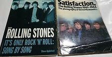 Lot 2 THE ROLLING STONES Steve Appleford book & Satisfaction RS Gered Mankowitz