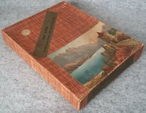 Rare KWIZ Interlocking Wooden Jigsaw Jig-saw Picture Puzzle 400p Complete 1930's