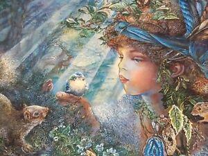 """Nature Boy"" 750 Pieces Enchanting Forest Wildlife Animals Bird Butterflies Puzz"