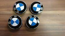 4 X Original BMW 3er F30 F31 F80 Radnabendeckel Radkappen 68mm Embleme 678353604