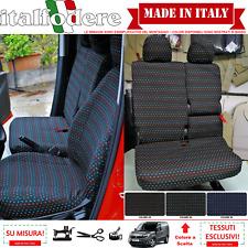 FODERE SU MISURA Fiat DOBLO CARGO/WORK UP 3PSt COPRISEDILI FODERINE Vari Colori
