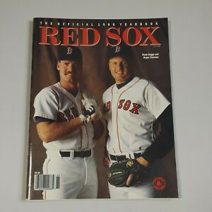 Boston Red Sox Official 1988 Yearbook Roger Clemens Wade Boggs