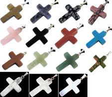 Onyx Kreuz-Echtschmuck-Anhänger