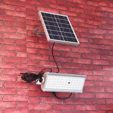 30W 65LED Waterproof Solar Radar Sensor Flood Light Outdoor Patio Light