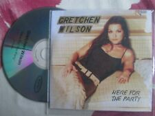 Gretchen Wilson – Here For The Party Epic Records UK Promo CD Album