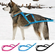 Durable Dog Sled Harness Heavy Duty Large Dog Pulling Vest for Working Training