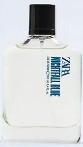 ZARA NIGHTFALL BLUE for MEN * 3.4 oz (100ml) EDP Spray * NEW & UNBOXED