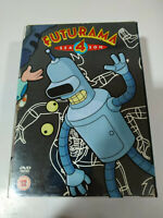 Futurama Season Four 4 Complete - Box 4 x DVD English Region 2
