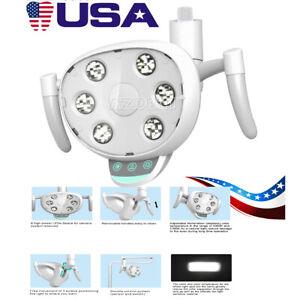 Dental 6 LED Lamp Oral Light Induction Senser Removable For Dental Chair COXO