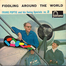 "FRANS POPTIE & SWING SPECIALS ‎– Fiddling Around The World No. 2 (VINYL EP 7"")"