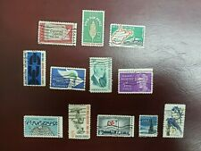 US STAMPS 1963 FULL YEAR COMPLETE USED #1230-1241