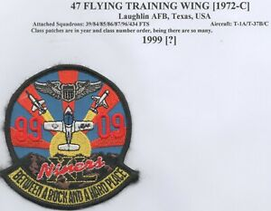 US Air Force 47th Flying Training Wing, Course 99-09 patch