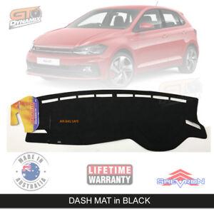 Dash Mat Volkswagen Polo AW 70Tsi 85TSi GTi Trendline Feb/2018-20 DM1529 Black