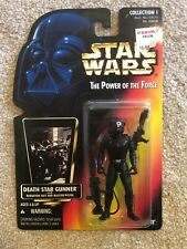 Kenner Power Of The Force Red Card Death Star Gunner Action Figure