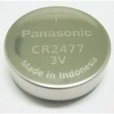 Panasonic CR2477 Lithium Coin Cell 3.0V BATTERY - BRAND NEW