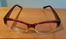 c7a4734e709 LEGRE LE144 RED FADE 463 PLASTIC EYEGLASSES FRAME JAPAN MADE