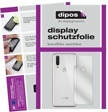 Schutzfolie für Motorola One Action Rückseite Display Folie klar