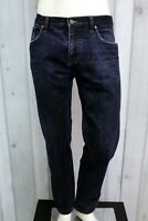 GUCCI Jeans Uomo Taglia 52 Pantalone Regular Made in Italy Cotone Pants Men Man