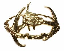 Space Station Goldtone Metal Pin Star Trek Deep Space Nine