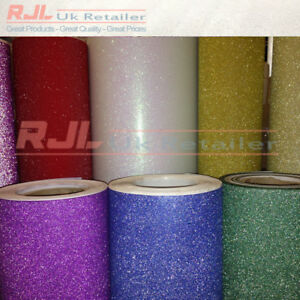 Sparkles Glitter Wrapping Paper Available in ten colours  RED 2m x 100cm roll