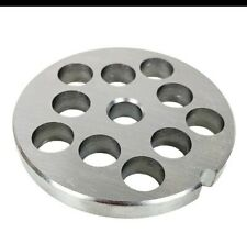 #12 Lem stainless steel Meat Grinder plate