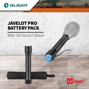 Olight Javelot Pro Led Torch Spare Battery Pack With Tail Switch Black Bptj-Pro