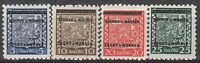 Stamp Germany Bohemia Czech Mi 001-5 Sc 1-5 1940 WWII Fascism MNH