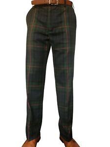 Mens Scottish Traditional Gunn Tartan Trousers New