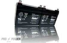 (2) Casil 12v 33ah for Deep Cycle Solar Battery Also Replaces 35Ah 34Ah 36Ah