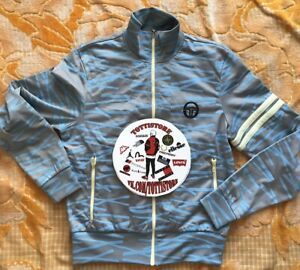 Vintage 90's Sergio Tacchini x Burro Authentically Blocked Track Jacket Size S