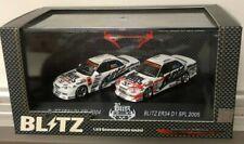 HOT WORKS RACING BLITZ JAPAN DRIFT D1 NISSAN ER34 NISMO RACING 1/64 2 CARS SET