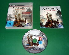 Assassin's Creed III 3 Special fuer Sony Playstation 3 PS3 mit Anl. und OVP
