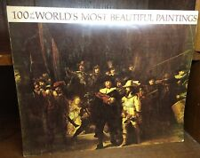 100 of the Worlds Most Beautiful Paintings 1966 Excellent Vintage Condition