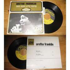 ARETHA FRANKLIN - See Saw French PS Soul Funk R&B Avec Languette 1968