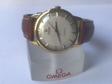 Superb Vintage OMEGA Geneve Automatic Gents Watch c1962 Two Tone Crosshair Dial