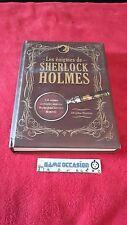 LES ÉNIGMES DE SHERLOCK HOLMES / 150 ÉNIGMES / JOHN WATSON /  LIVRE
